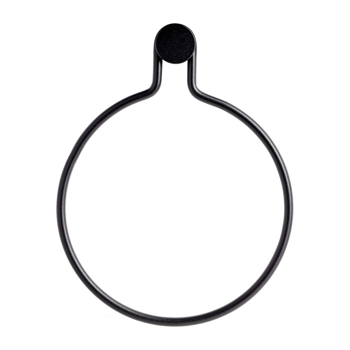 OTO/WALL ROUND METAL TOWEL RING