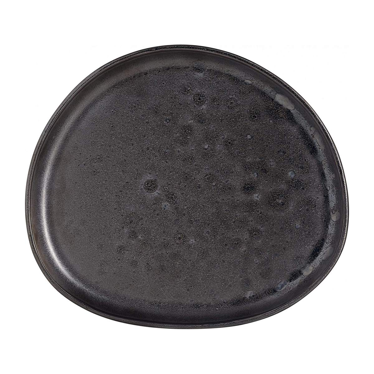 ROMIE/PORCELAIN SIDE PLATE BLACK 23.5CM