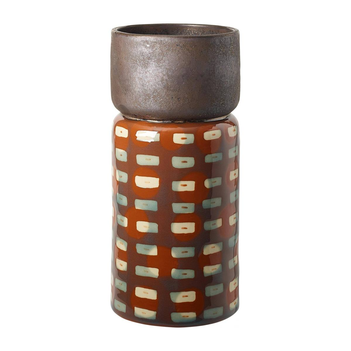ROUGEUR/STONEW. VASE BROWN L