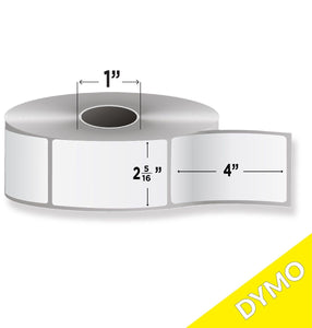 "2-5/16"" X 4"" DYMO® Labels Canadian Manufacturer Lowest Price BuyLabel.ca"