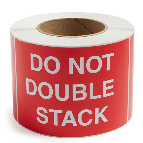 DO NOT DOUBLE STACK LABEL CANADIAN MANUFACTURER