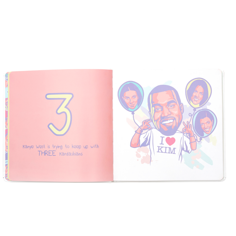 1 2 3 with the Notorius B.I.G | Numbers Book