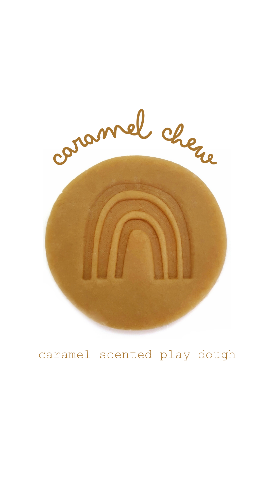 Scented Playdough | Caramel Chew