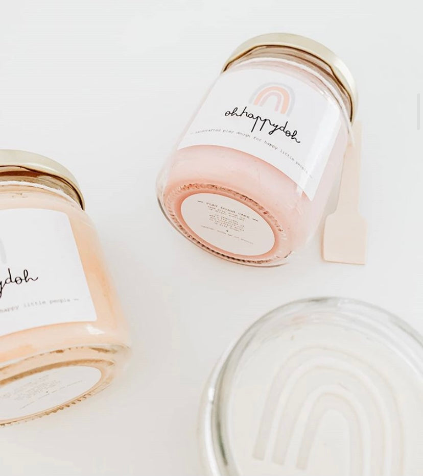 Scented Playdough | Dusty Rose