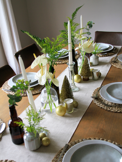 Simple Neutral Tablescape Box