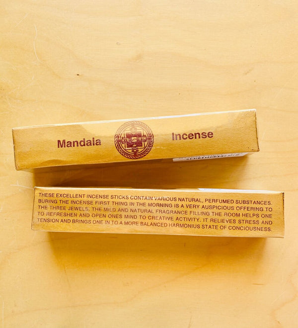 Tibetan Sandalwood Mandala Incense