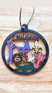 Louisiana ornament