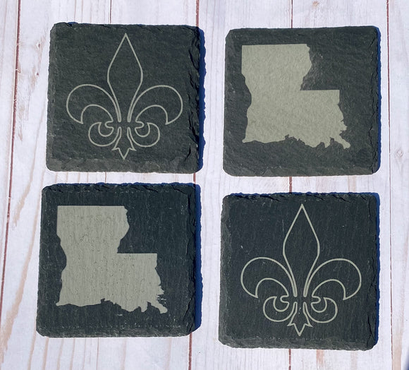 Louisiana Coaster Set of 4