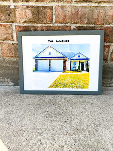 Watercolor House warming / Realtor Gifts