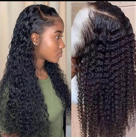 brazilian lace front human hair wet and wave, 150 density 26inches