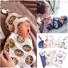 Load image into Gallery viewer, 2Pcs/Set Baby Swaddle Diaper 100% Cotton Infant Newborn Thin Baby Wrap Envelope Swaddling Swaddleme Sleep Bag Sleepsack