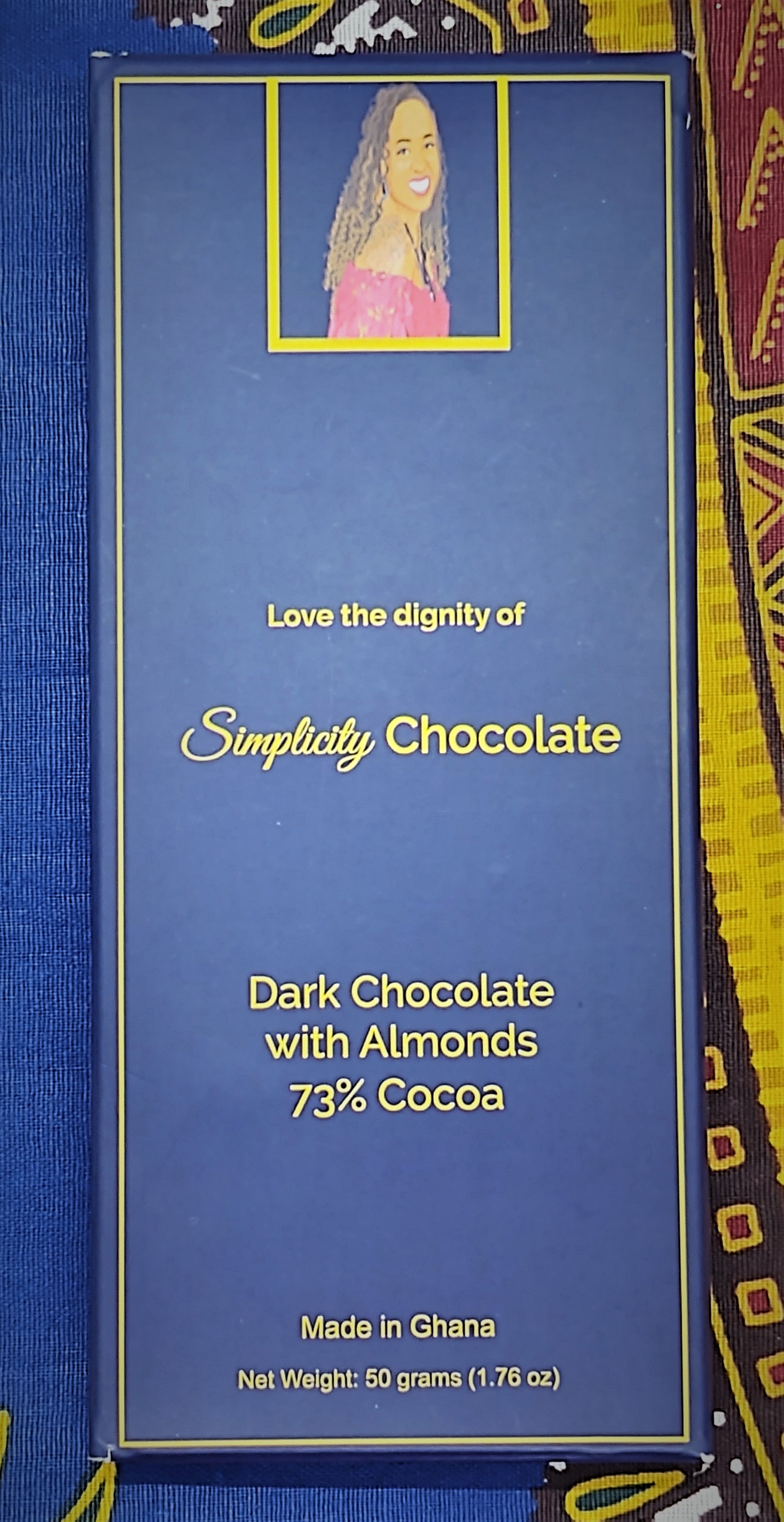 Dark Chocolate with Almonds (73% Cocoa)