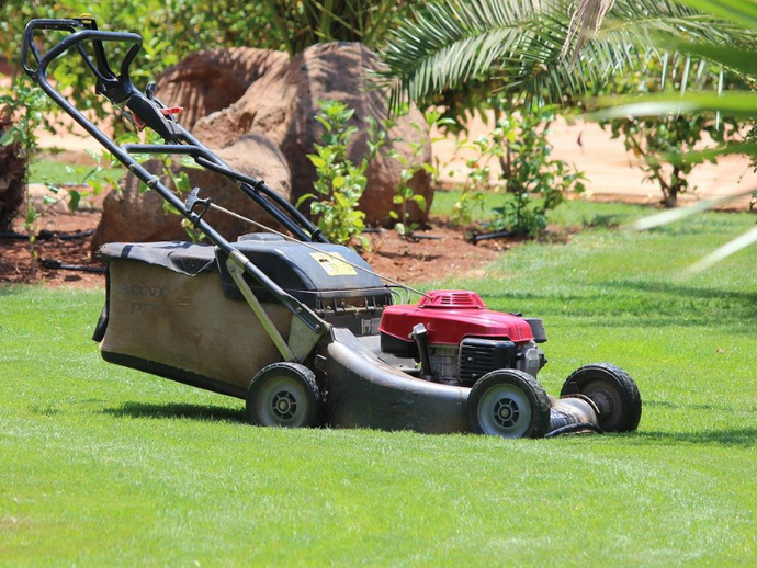 Step by step mowing guide