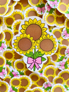 Sunflower Bouquet Sticker