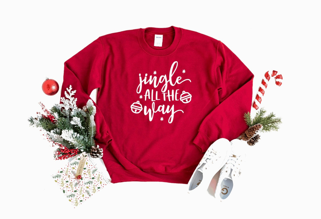 Jingle All the Way Crewneck