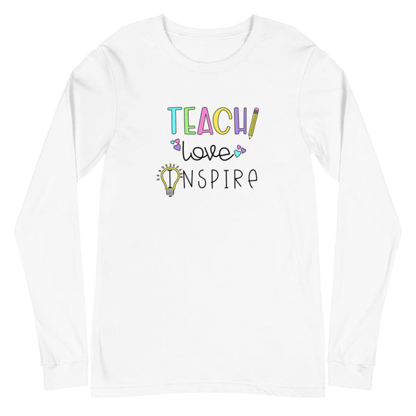 Teach Love Inspire Long Sleeve Tee