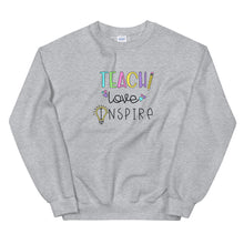 Load image into Gallery viewer, Teach Love Inspire Crewneck