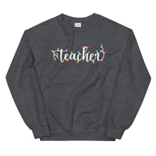 Load image into Gallery viewer, Christmas Teacher Crewneck