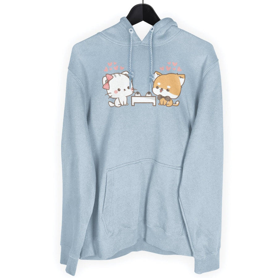 Deto No Inu Cat and Shiba Inu Unisex Hoodie