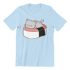Sushi Neko Sleeping Cat Unisex T-Shirt