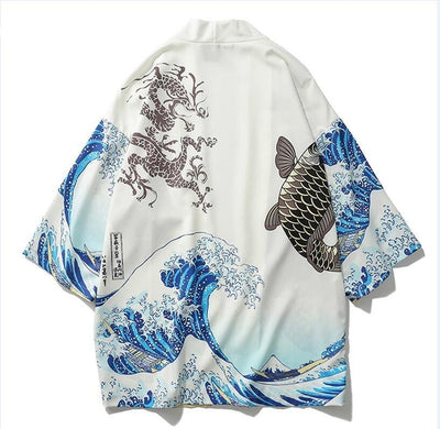 Onima Men's Japanese Streetwear Robe