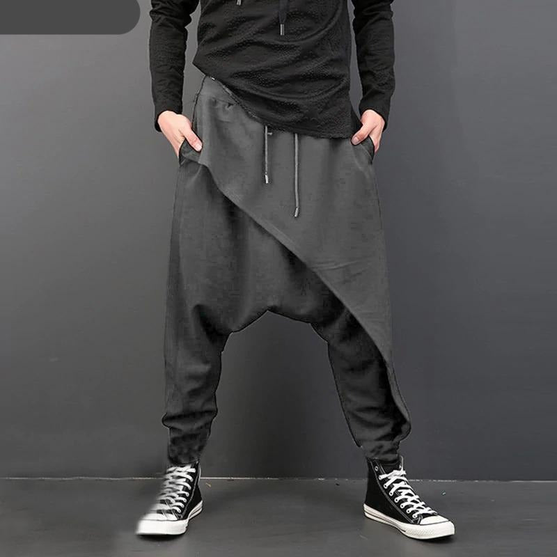 Inso Men's Japanese Streetwear Pants