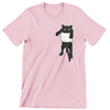 Bansu Pocket Black Cat Unisex T-Shirt