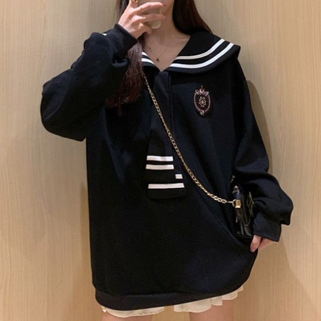 Nuna Cosplay Anime Streetwear Ladies Sweatshirt