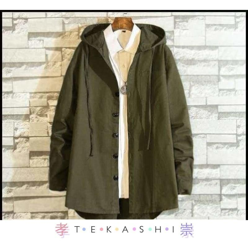 Firata Men's Jacket by Tekashi Japanese Streetwear