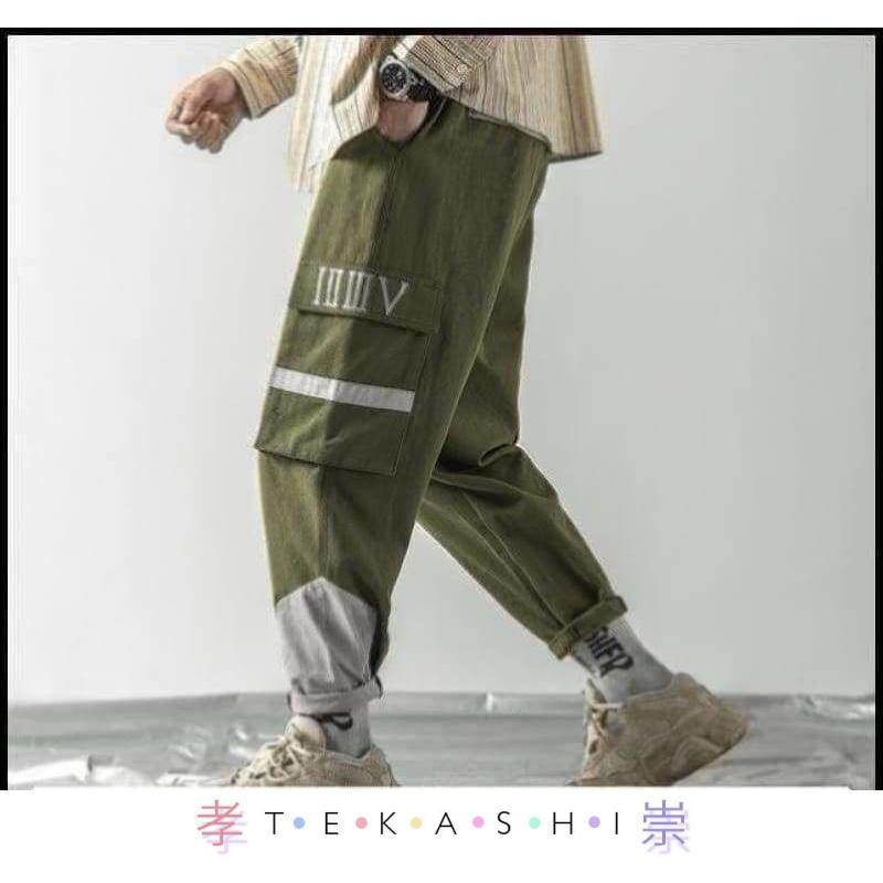 Huawana Men's Pants by Tekashi Japanese Streetwear