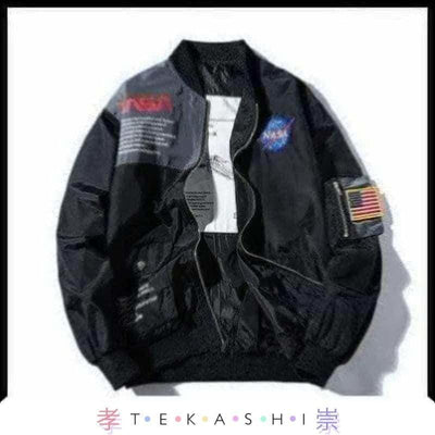 Tekashi Japanese Streetwear Black / 4XL Supa Sutu Men's Jacket