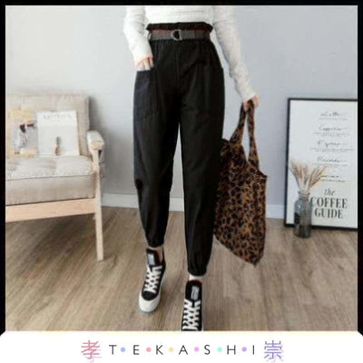 Tekashi Japanese Streetwear Black / L Wanama Ladies Pants by Tekashi Japanese Streetwear