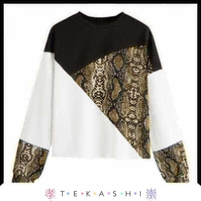 Tekashi Japanese Streetwear Gold / L Raiku Ladies Top