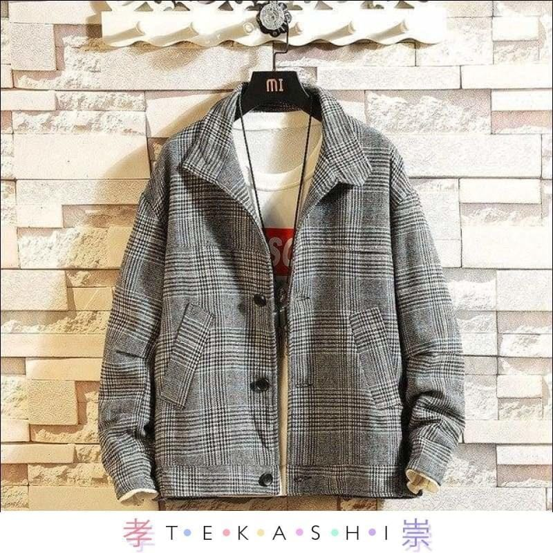 Urakama Men's Jacket by Tekashi Japanese Streetwear