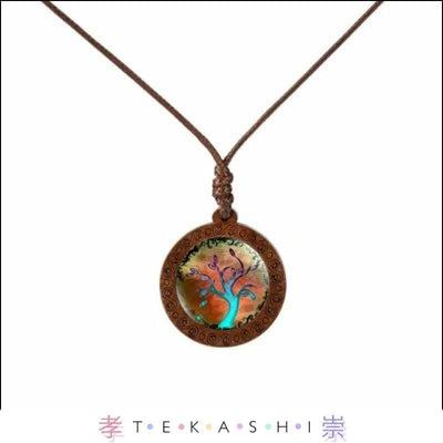 Tekashi Japanese Streetwear Northern Lights Furata Ladies Necklace by Tekashi Japanese Streetwear