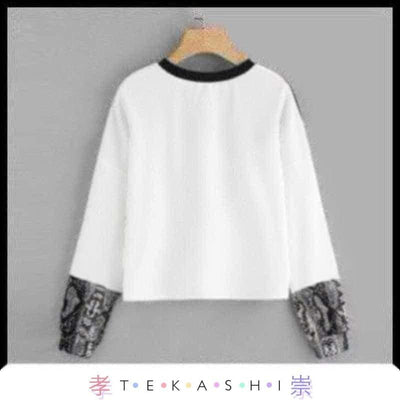 Tekashi Japanese Streetwear Raiku Ladies Top