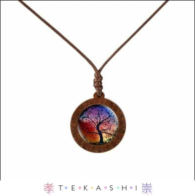 Tekashi Japanese Streetwear Sunset Furata Ladies Necklace by Tekashi Japanese Streetwear