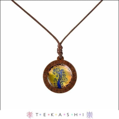 Tekashi Japanese Streetwear Wheat Furata Ladies Necklace by Tekashi Japanese Streetwear