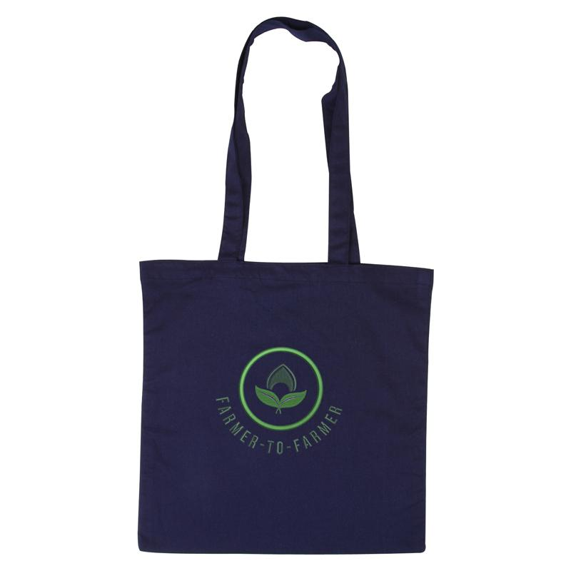 Navy Cotton Tote Bag 😀😀 Ethical Swag Pack