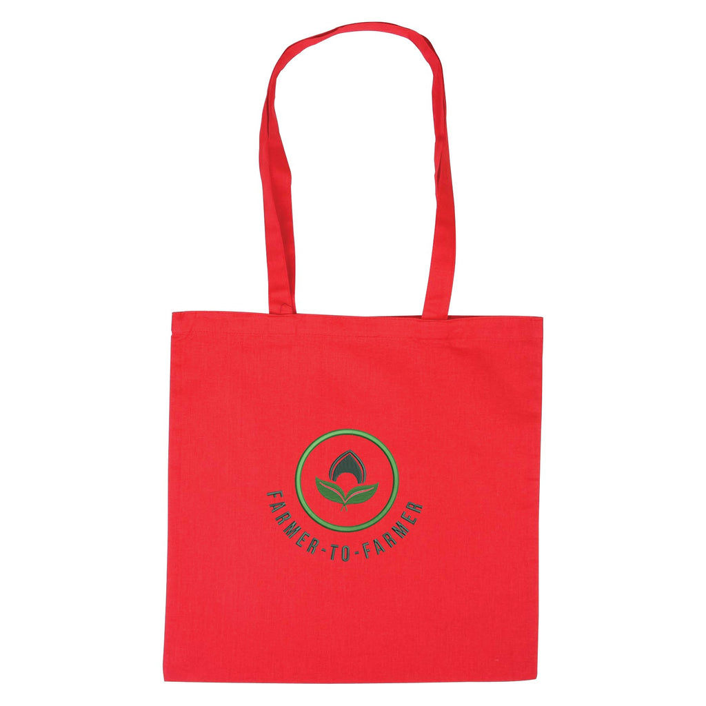 Red Cotton Tote Bag 😀😀 Ethical Swag Pack