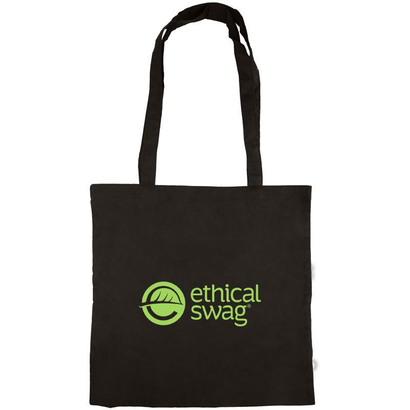 Black Cotton Tote Bag 😀😀 Ethical Swag Pack