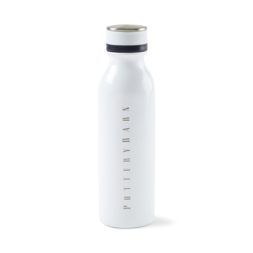 Favorite Double Wall Stainless Bottle 20 Oz. 😀😀 Bottle is white in a white background.