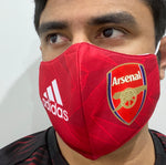 Arsenal 20/21 Home Re-Usable Mask