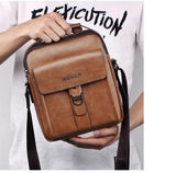 Mens Leather Shoulder/Crossbody Business/Casual Bag