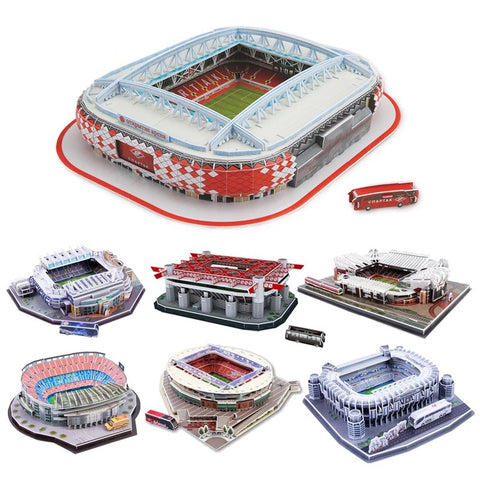 Build My Club Stadium 3D Puzzle Jigsaw