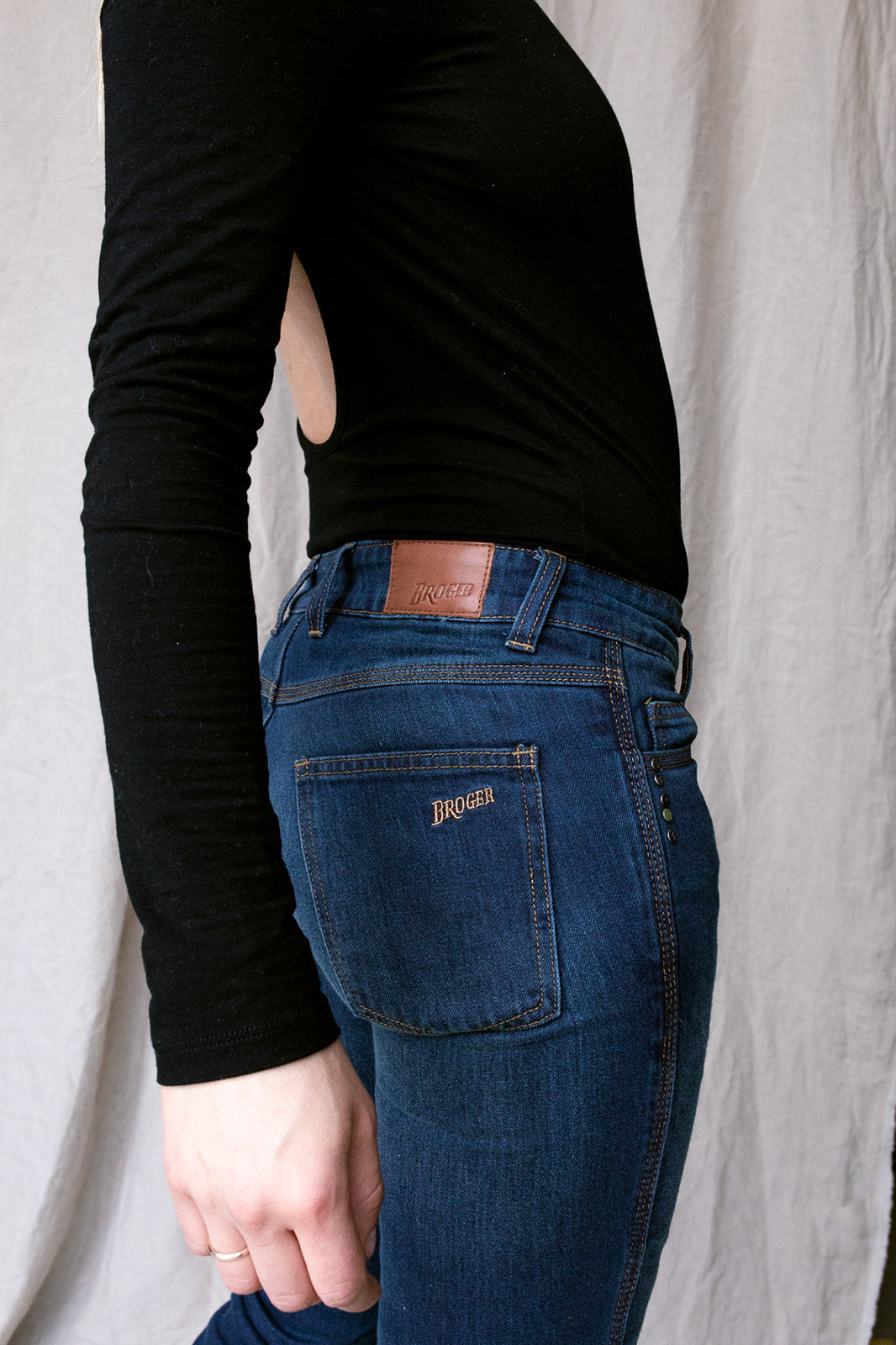 Florida Lady Jeans - Slim Fit - Dyneema® | Washed Blue