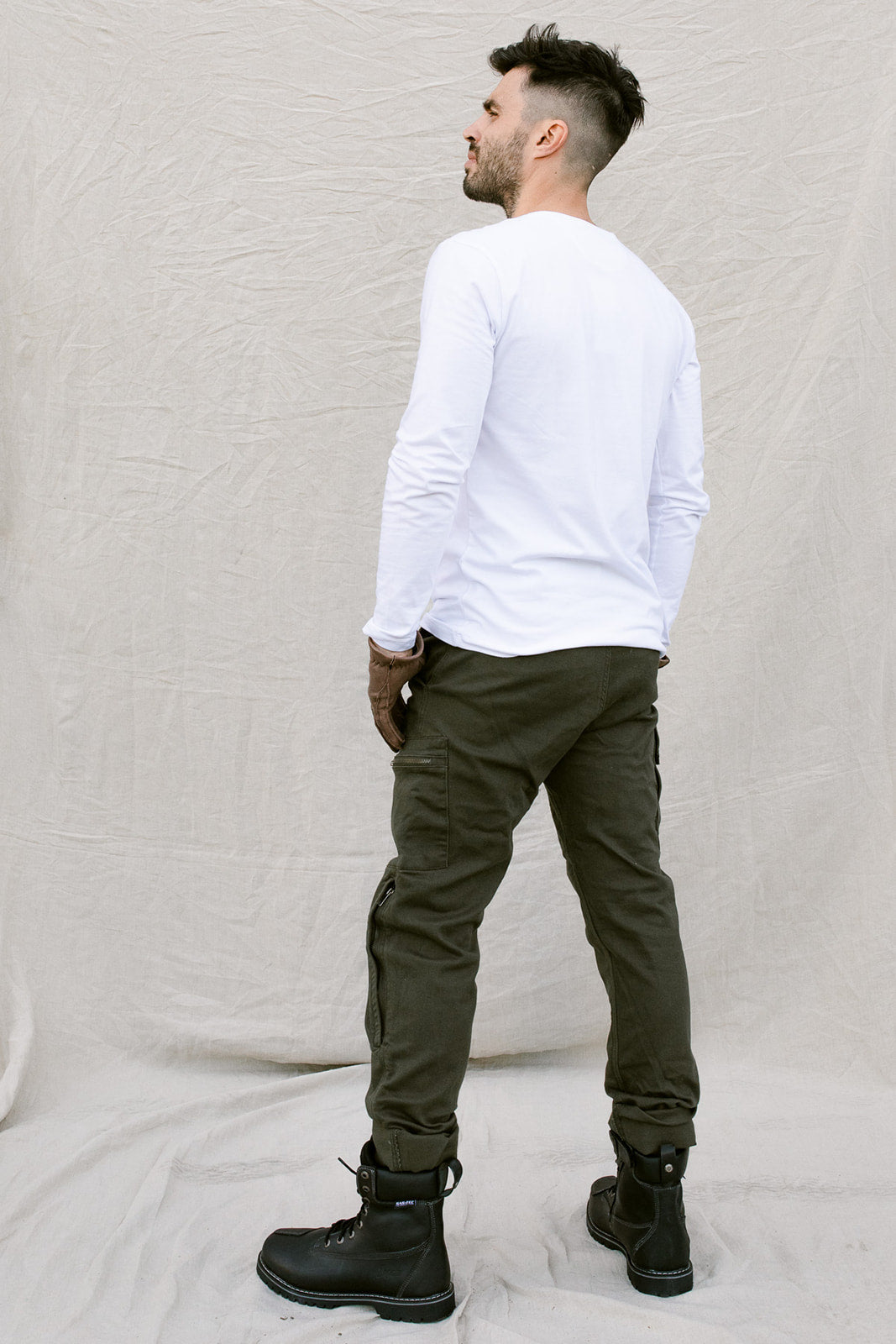 Alaska Olive Green Jeans - Denim®