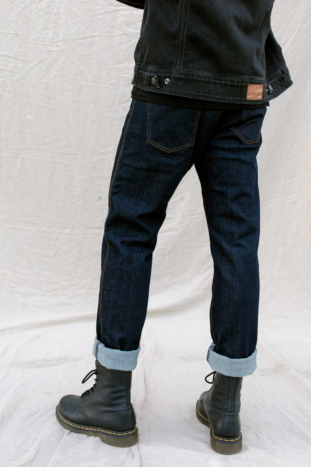California Raw Navy Jeans - Slim Fit