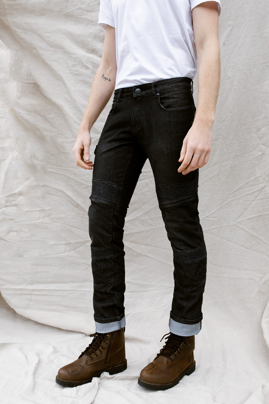 Ohio Jeans - Cordura® & Coolmax® | Washed Black