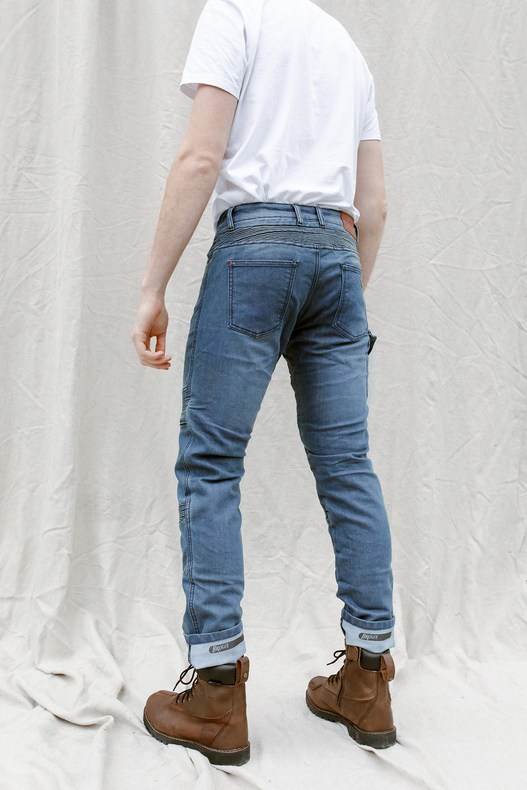 Ohio Jeans - Cordura® & Coolmax® | Washed Blue